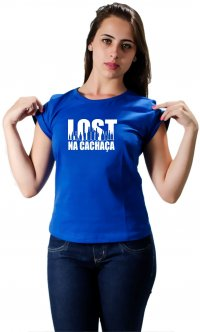 Camiseta Lost na cachaça