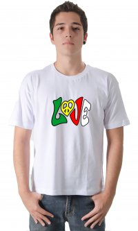 Camiseta Love Reggae