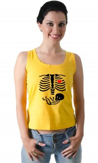 Camiseta Maternity Skeleton
