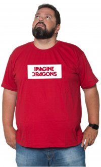 Camiseta Imagine Dragons Logo