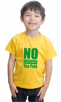 Camiseta No Maradona