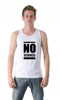 Camiseta No Sóbrio