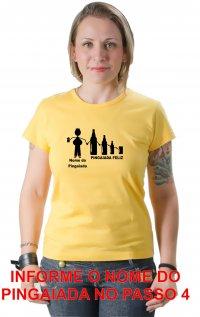 Camiseta Pingaiada Feliz