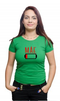 Camiseta Mãe bateria