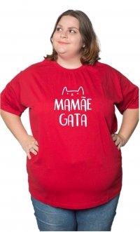 Camiseta Mamãe gata