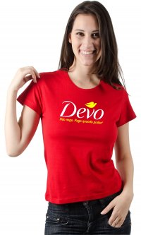 Camiseta Devo (sátira)