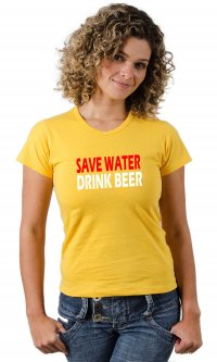 Camiseta Save Water