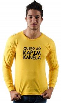 Camiseta Só Kapim Kanela