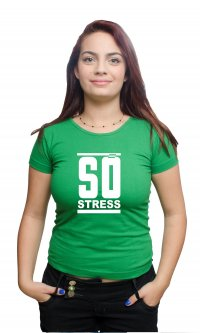 Camiseta Só Stress