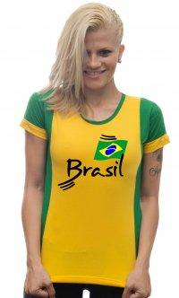 Camiseta Brasil Bandeira