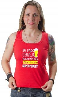 Camiseta Cerveja Superpoder