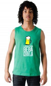 Camiseta Economize água, beba cerveja