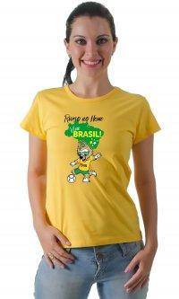 Camiseta Brasil Mascote