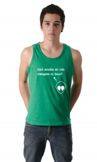 Camiseta Vida inteligente na terra