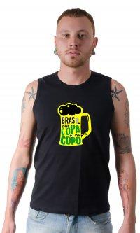 Camiseta Brasil na copa