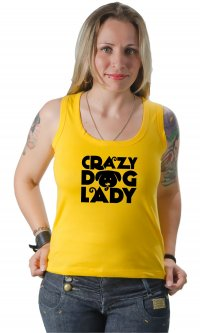 Camiseta Crazy dog lady