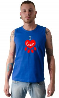Camiseta I love pet