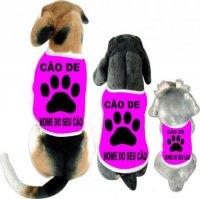 Cãomiseta - Cão de Pegada