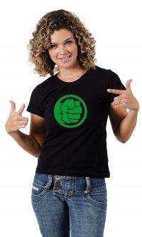 Camiseta Hulk mão