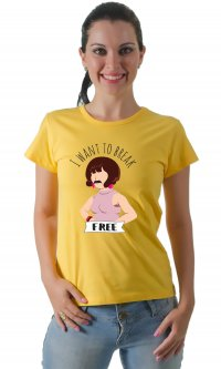 Camiseta I want to break free