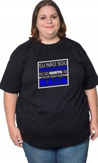 Camiseta Não sou preguiçoso