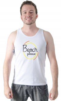 Camiseta Beach please