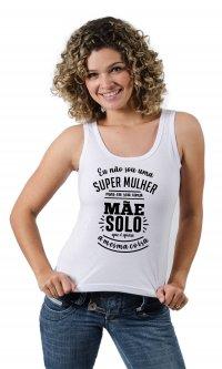 Camiseta Mãe solo