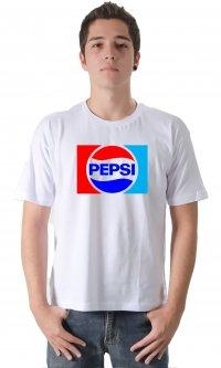 Camiseta Pepsi retrô (logo)