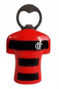 Abridor de Garrafas com Imã do Flamengo