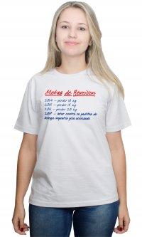 Camiseta Metas de Réveillon