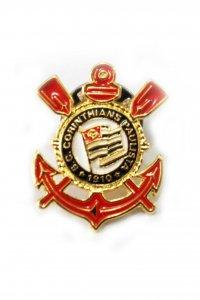 Boton Dourado Escudo do Corinthians
