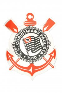 Mouse Pad Escudo do Corinthians