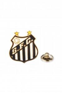 Boton Dourado Escudo do Santos