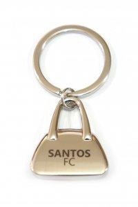 Chaveiro Bolsa Escudo do Santos
