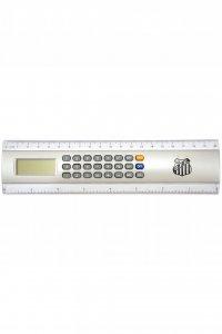 Régua Calculadora 20cm Escudo do Santos