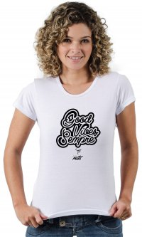 Camiseta Good Vibes - Casal Ruts