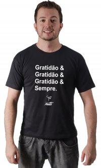 Camiseta Gratidão Sempre - Casal Ruts
