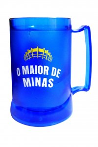 Caneca Gel Peça Azul 400ml Escudo do Cruzeiro