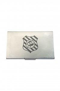 Porta Cartão Metal Escudo do Figueirense