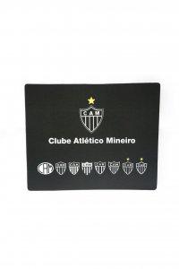 Mouse Pad Retangular Evolução dos Escudo do Atlético Mineiro