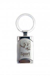 Chaveiro Retangular Mascote do Sport