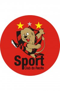 Mouse Pad Redondo Mascote do Sport