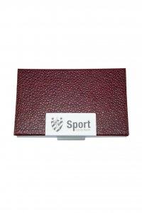 Porta Cartão Couro Vermelho do Sport