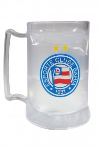 Caneca Gel Incolor 400ml Escudo da Bahia