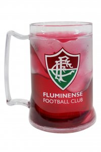 Caneca Gel Bordô 400ml Escudo do Fluminense
